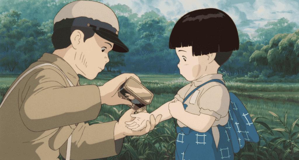 Película de anime: Tumba de las luciérnagas