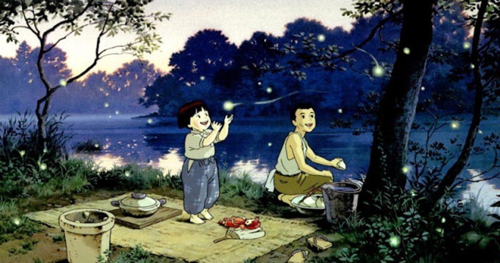 Película Anime, La tumba de las luciérnagas