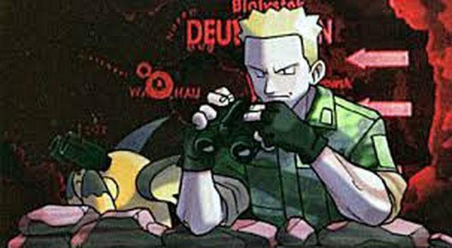 El teniente Surge en la Guerra de Kanto