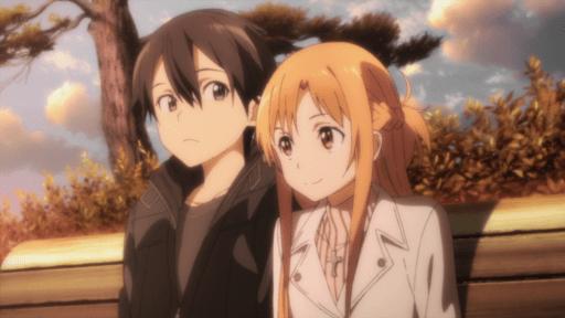 Asuna y Kirito - Sword Art Online