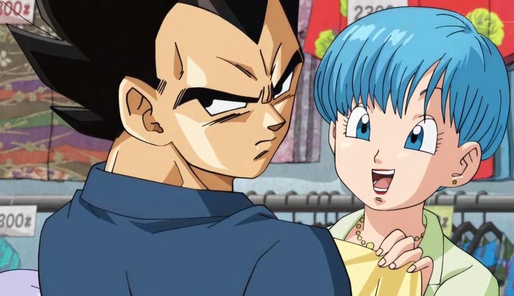 Vegeta y Bulma - Dragon Ball