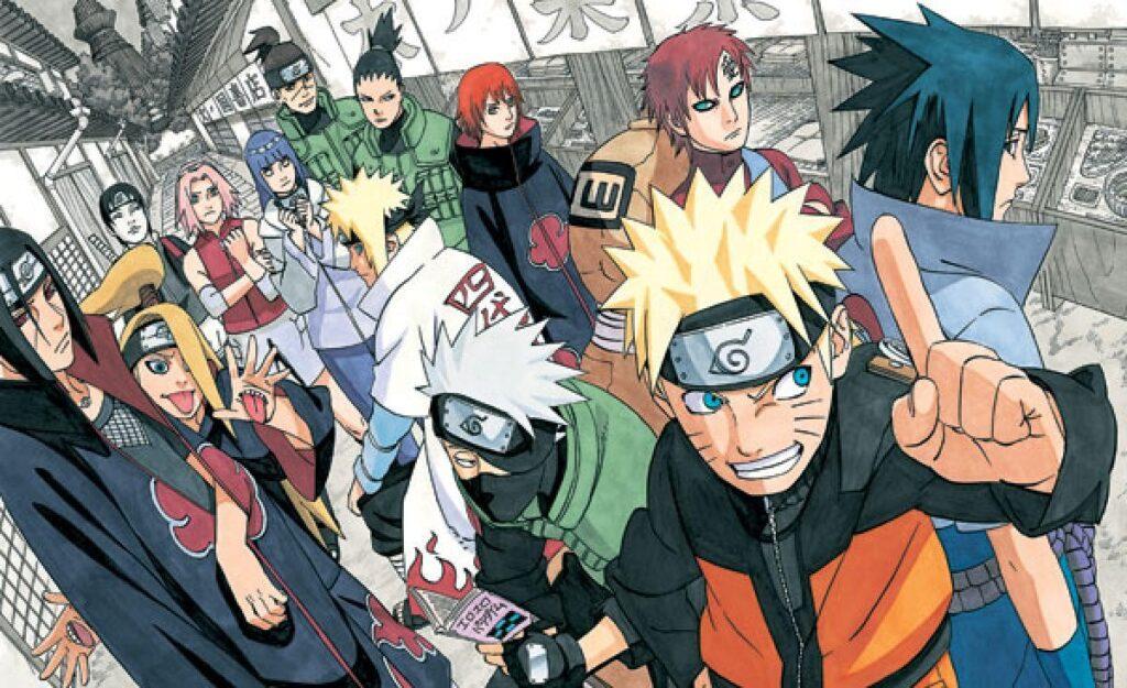Manga Naruto   Masashi Kishimoto