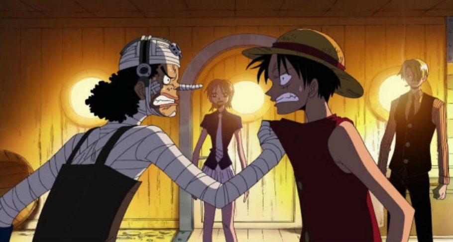 Luffy vs Ussop