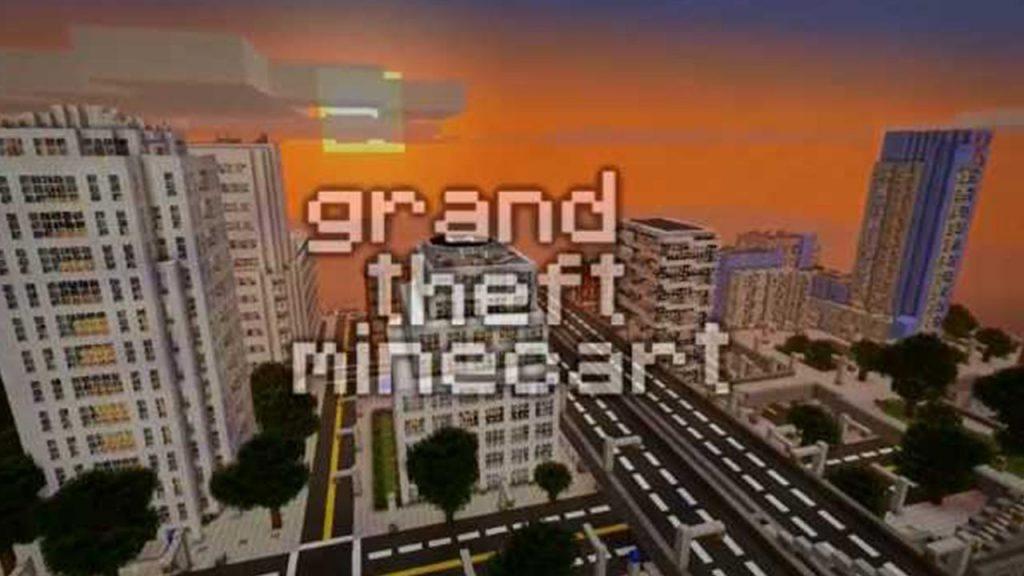 Minecraft: Grand Theft Minecart