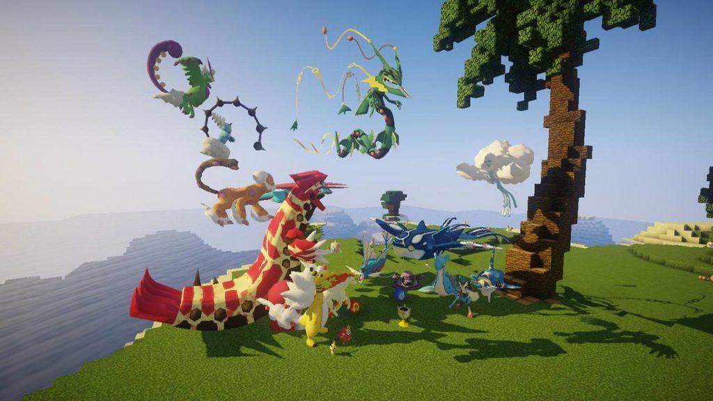 Minecraft: PixelmonCraft