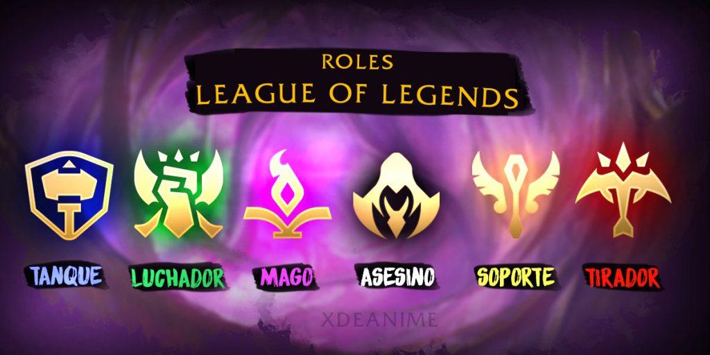 League of Legends Roles